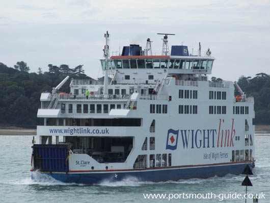 Wight Link's Car Ferry