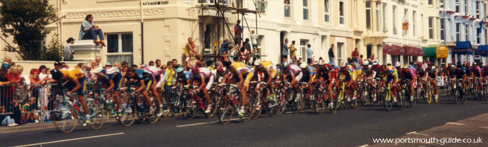 Le Tour De France in Southsea