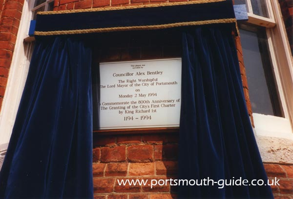 Portsmouth 800 Plaque