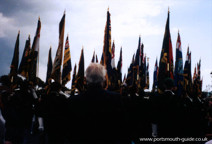 Veterans March Past